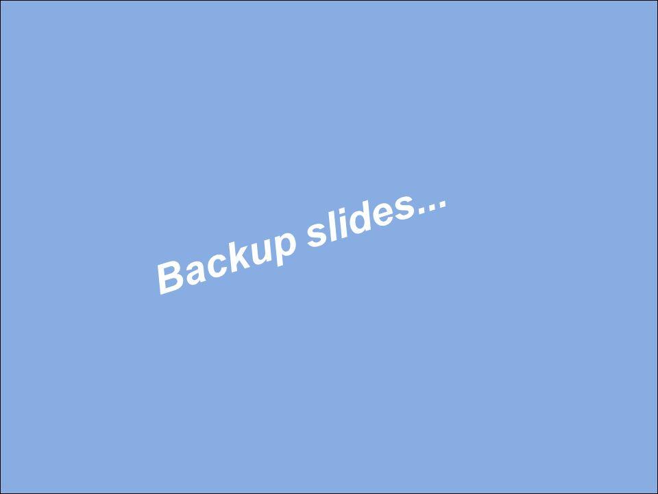 Backup slides...