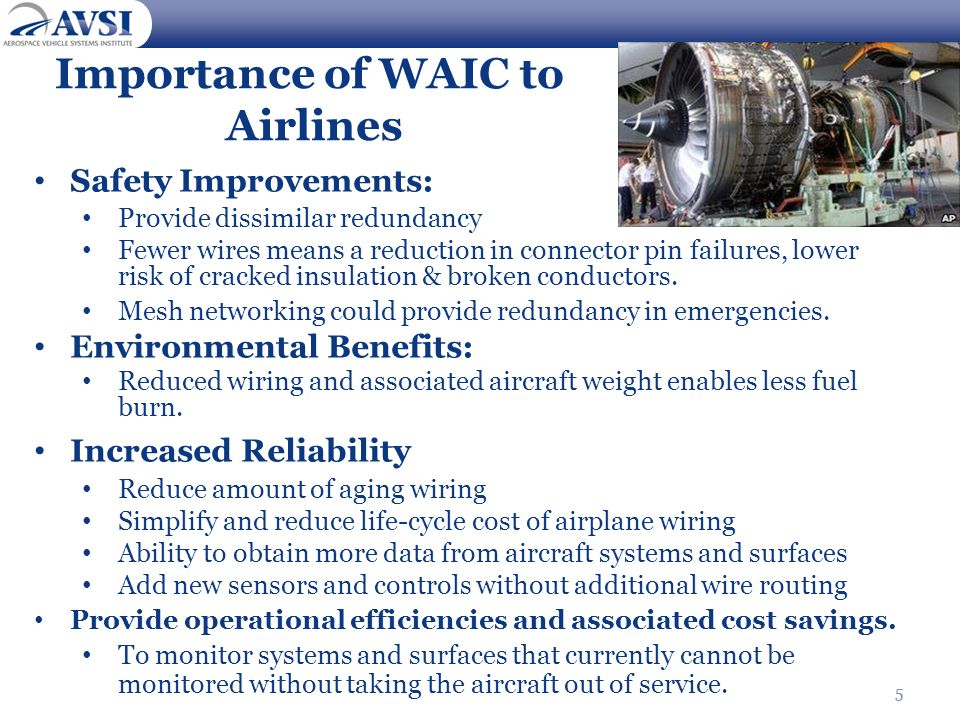 Importance of WAIC to Airlines