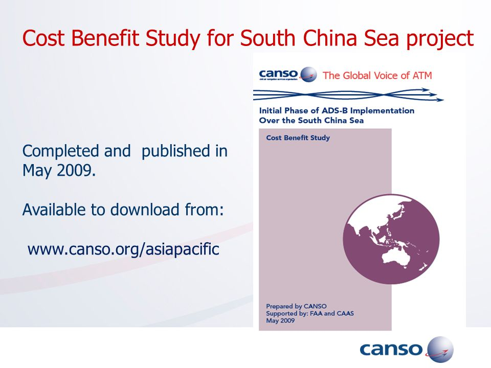 Cost Benefit Study for South China Sea project