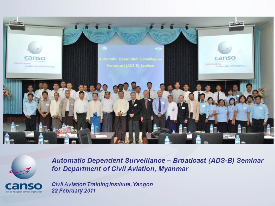 Automatic Dependent Surveillance – Broadcast (ADS-B) Seminar