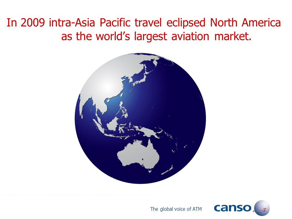 In 2009 intra-Asia Pacific travel eclipsed North America