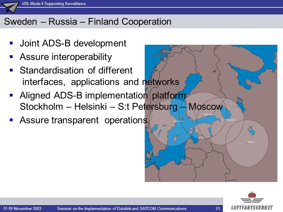 Sweden – Russia – Finland Cooperation