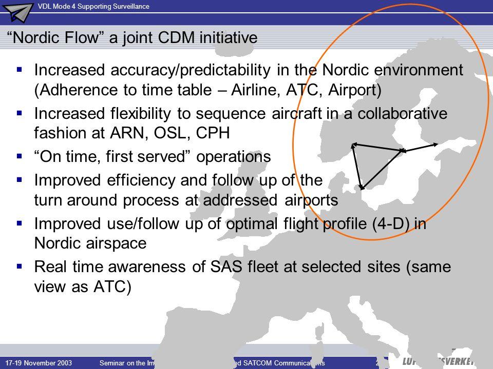 Nordic Flow a joint CDM initiative