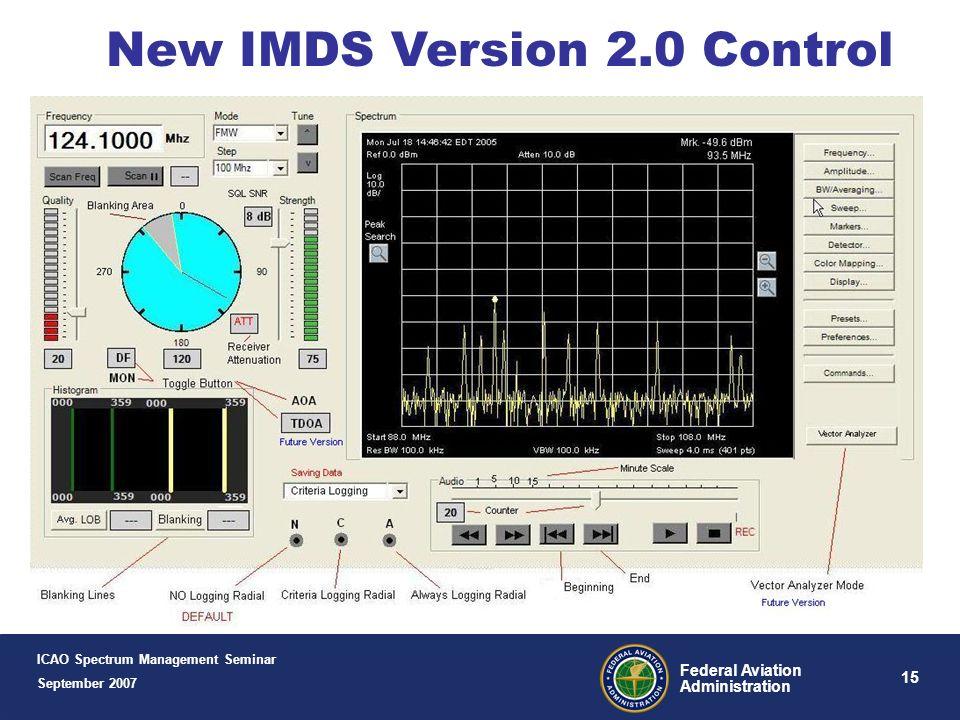 New IMDS Version 2.0 Control