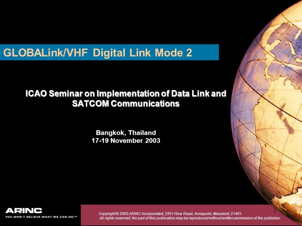 GLOBALink/VHF Digital Link Mode 2