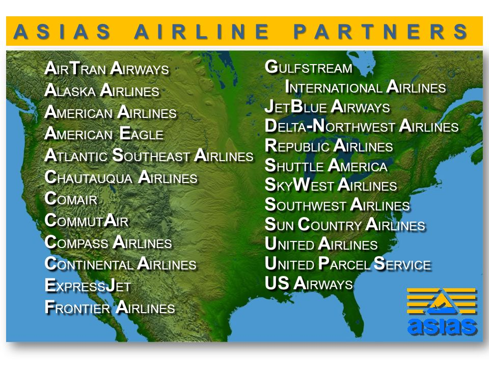 ASIAS AIRLINE PARTNERS