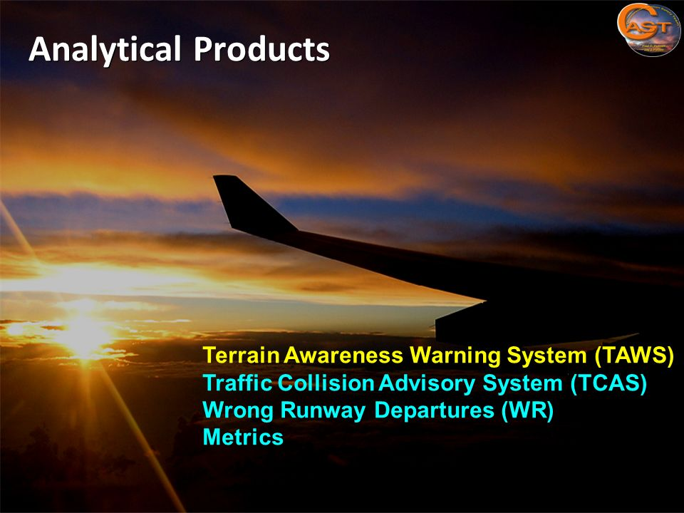 Analytical Products Terrain Awareness Warning System (TAWS)