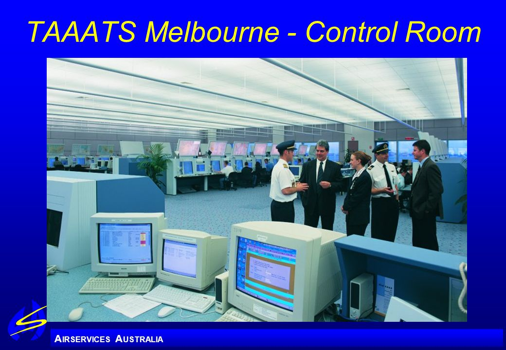TAAATS Melbourne - Control Room