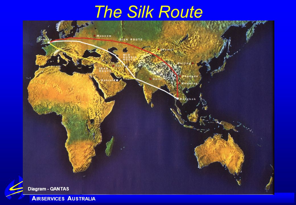 The Silk Route Diagram - QANTAS