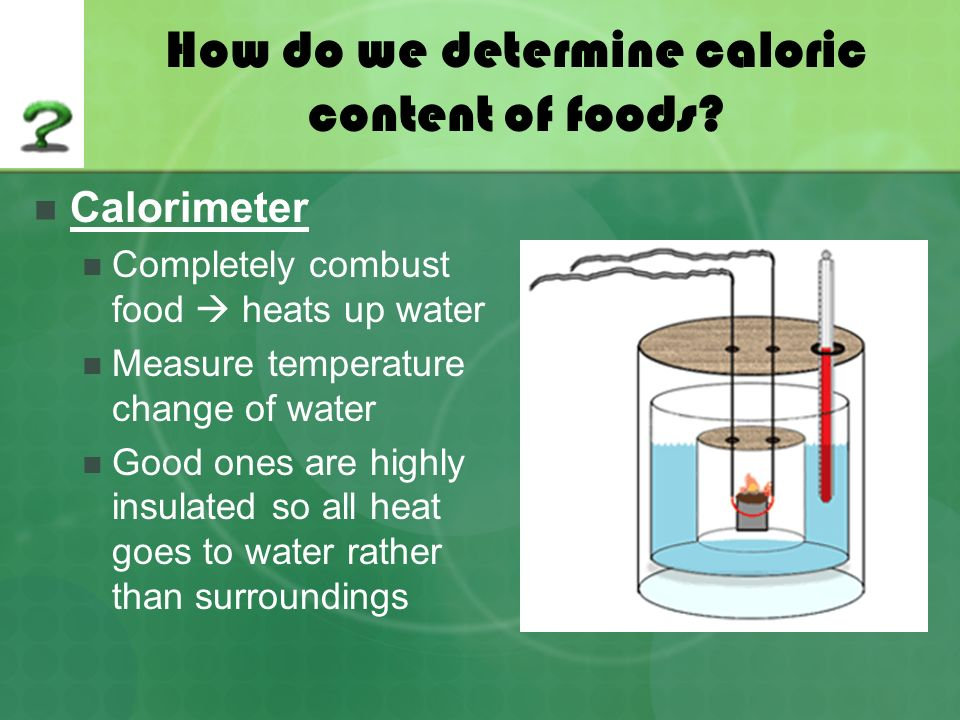 lab 3 caloric content of food The third group nutrients include calories, sugars, total fat, saturated fat, cholesterol, and sodium however, for products (eg, fruit drinks, juices, and confectioneries) with a sugars content.