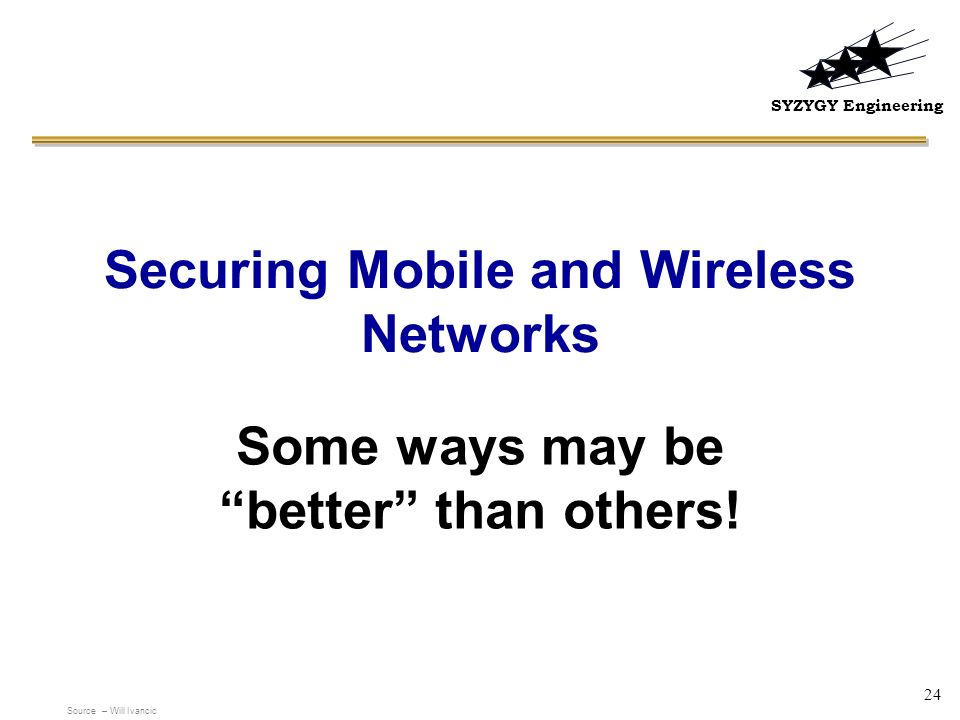 Securing Mobile and Wireless Networks
