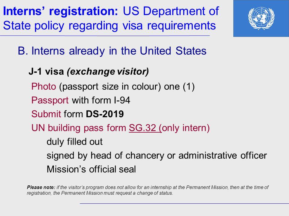 J-1 visa (exchange visitor)