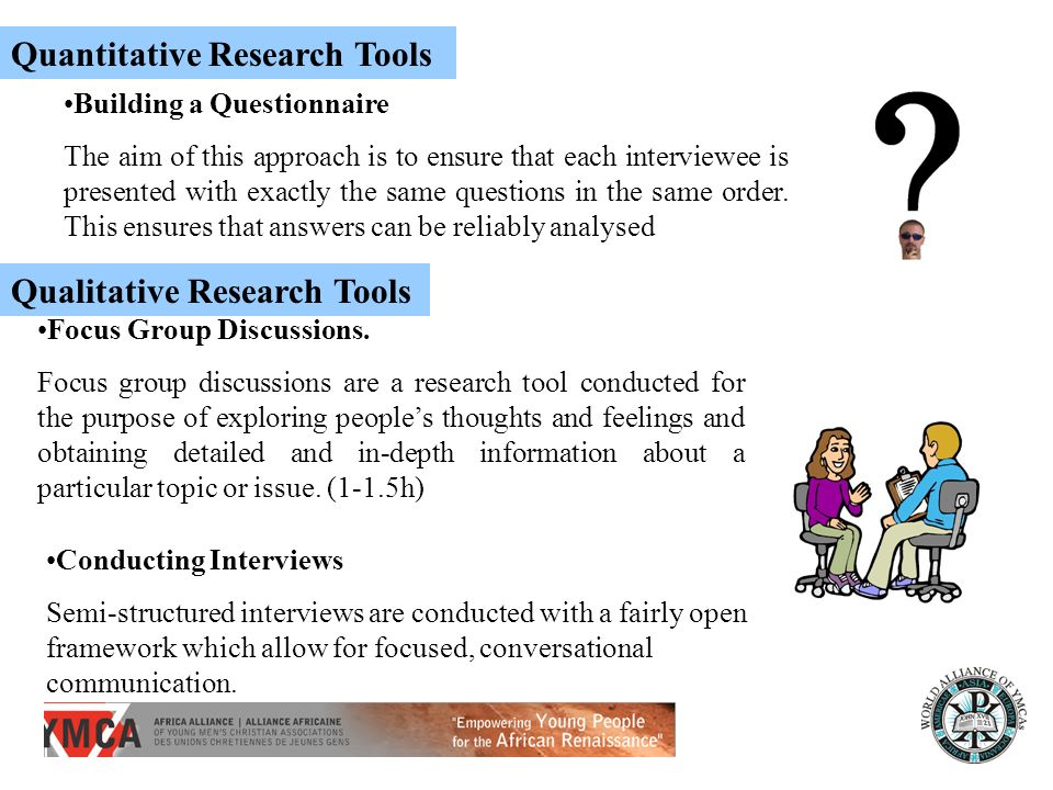 Quantitative Research Tools