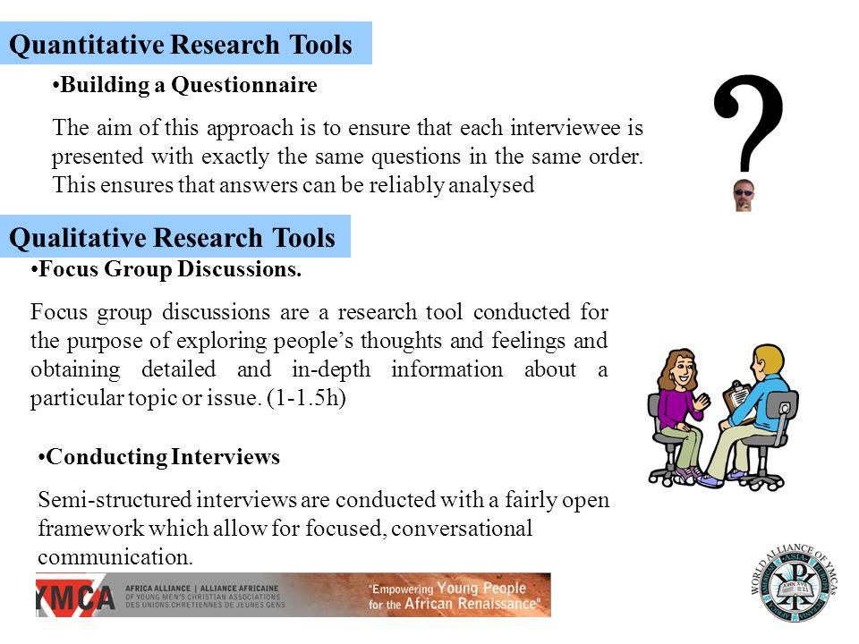 Quantitative Research Tools