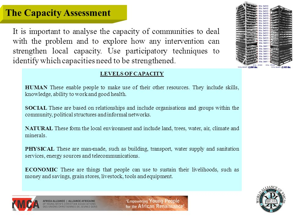 The Capacity Assessment