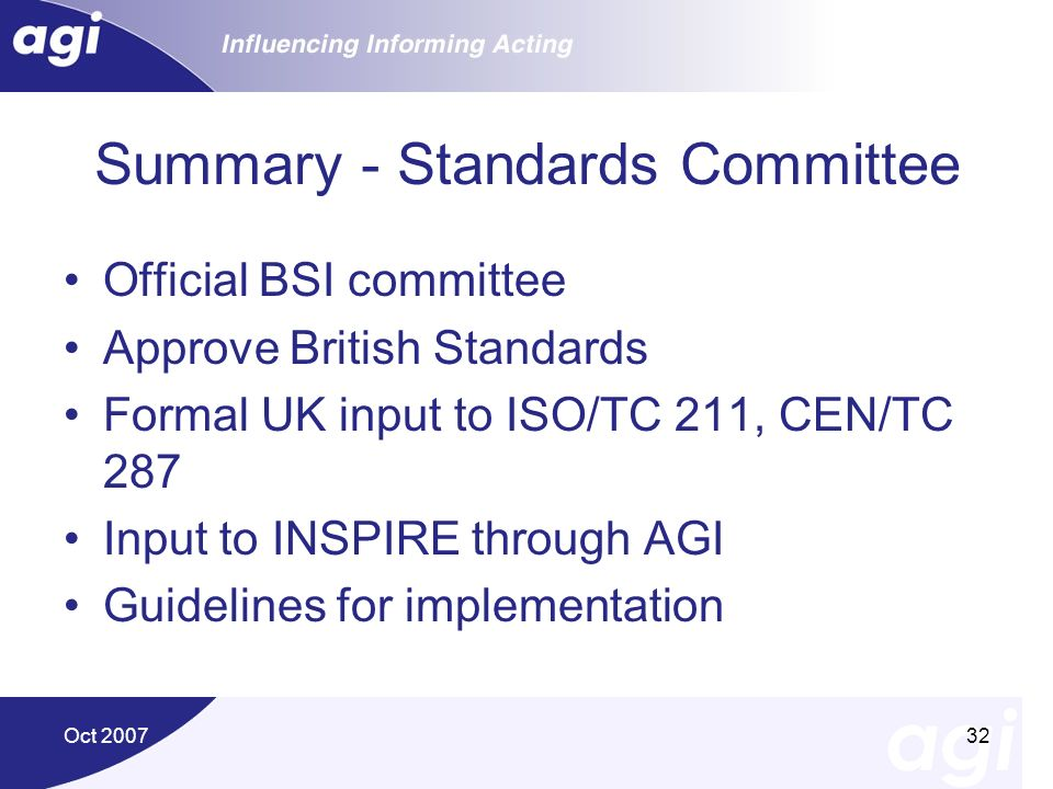 Summary - Standards Committee