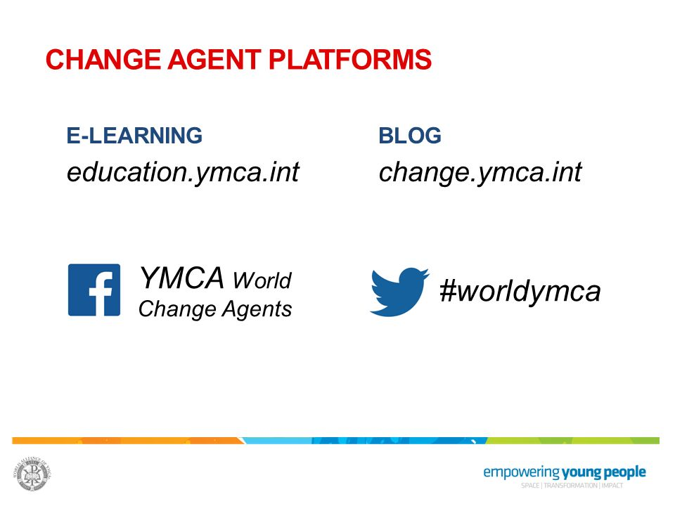 YMCA World Change Agents #worldymca