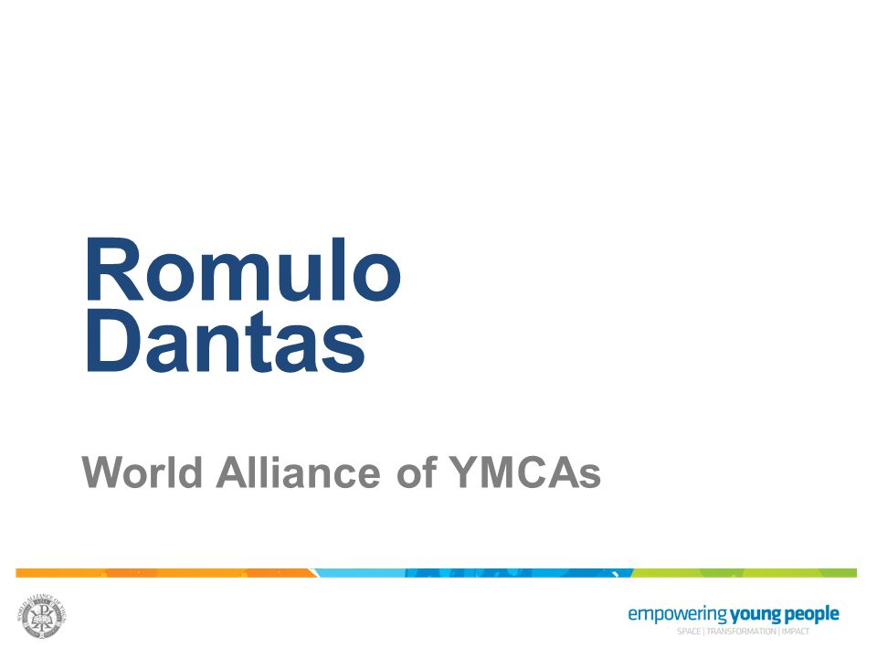 Romulo Dantas World Alliance of YMCAs
