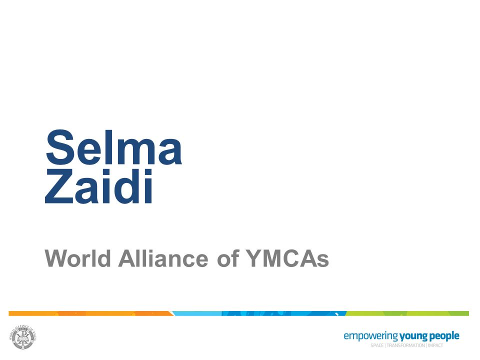 Selma Zaidi World Alliance of YMCAs