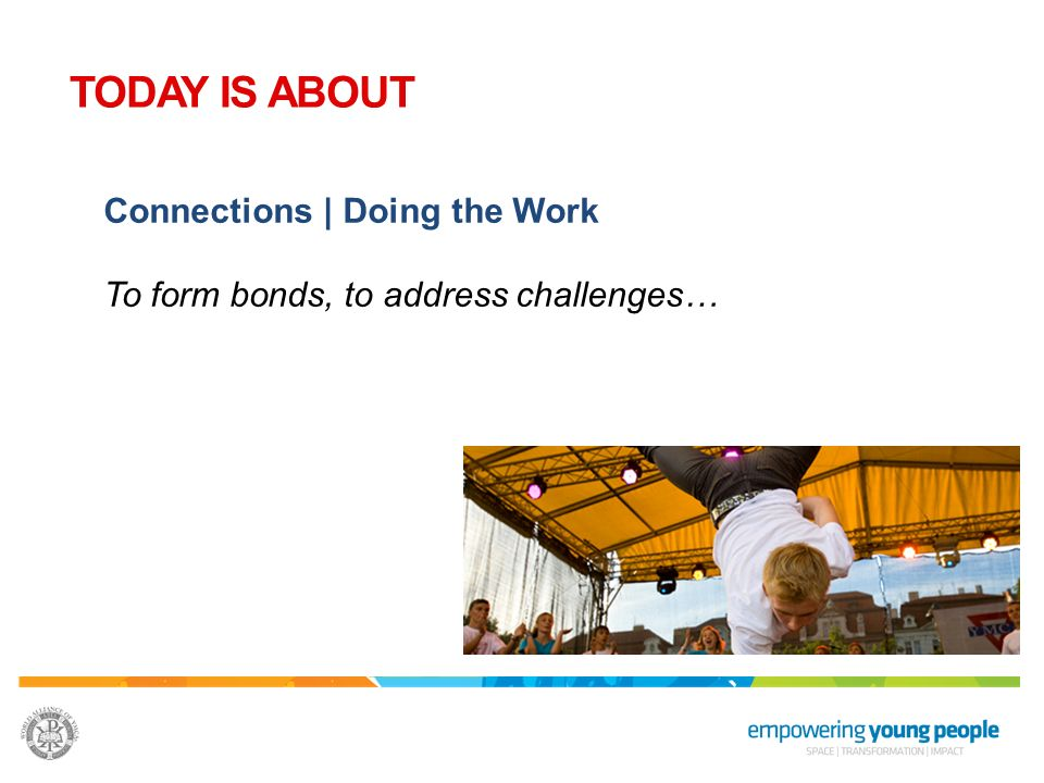 TODAY IS ABOUT Connections | Doing the Work
