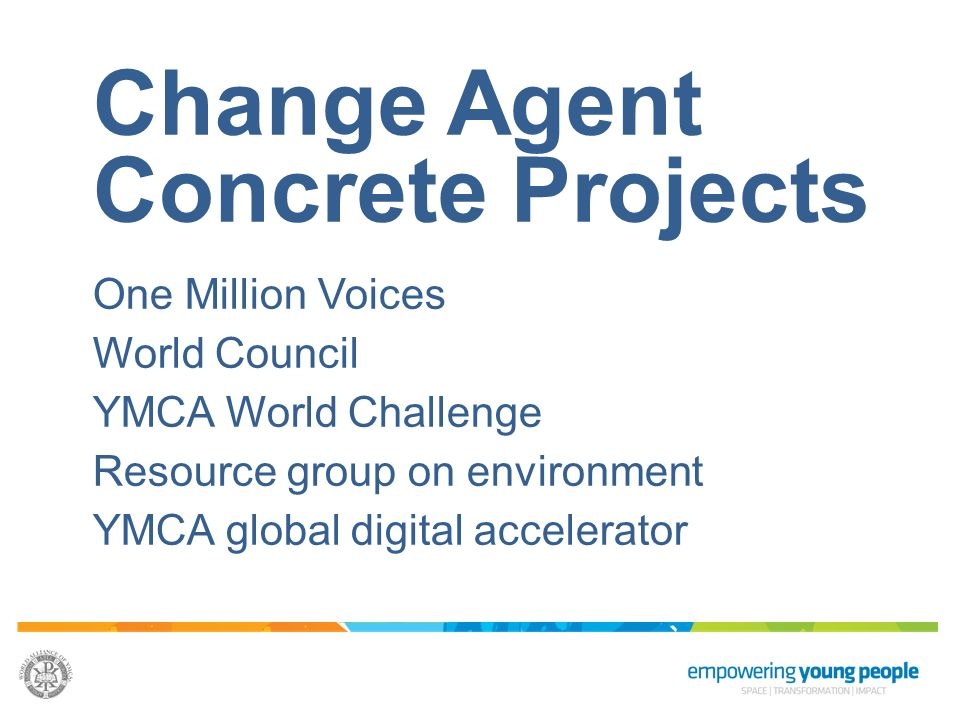 Change Agent Concrete Projects