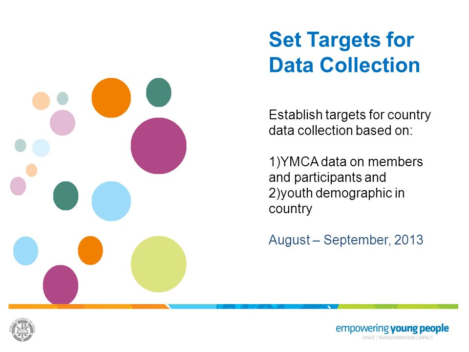 Set Targets for Data Collection
