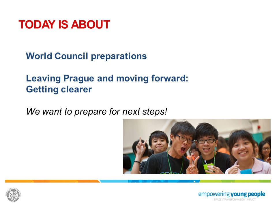 TODAY IS ABOUT World Council preparations