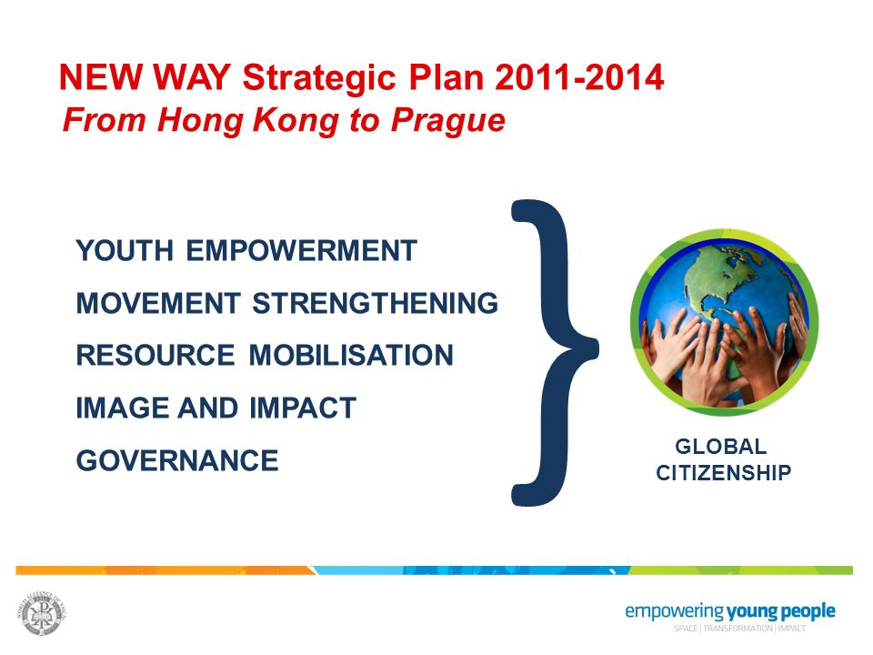 } NEW WAY Strategic Plan 2011-2014 From Hong Kong to Prague