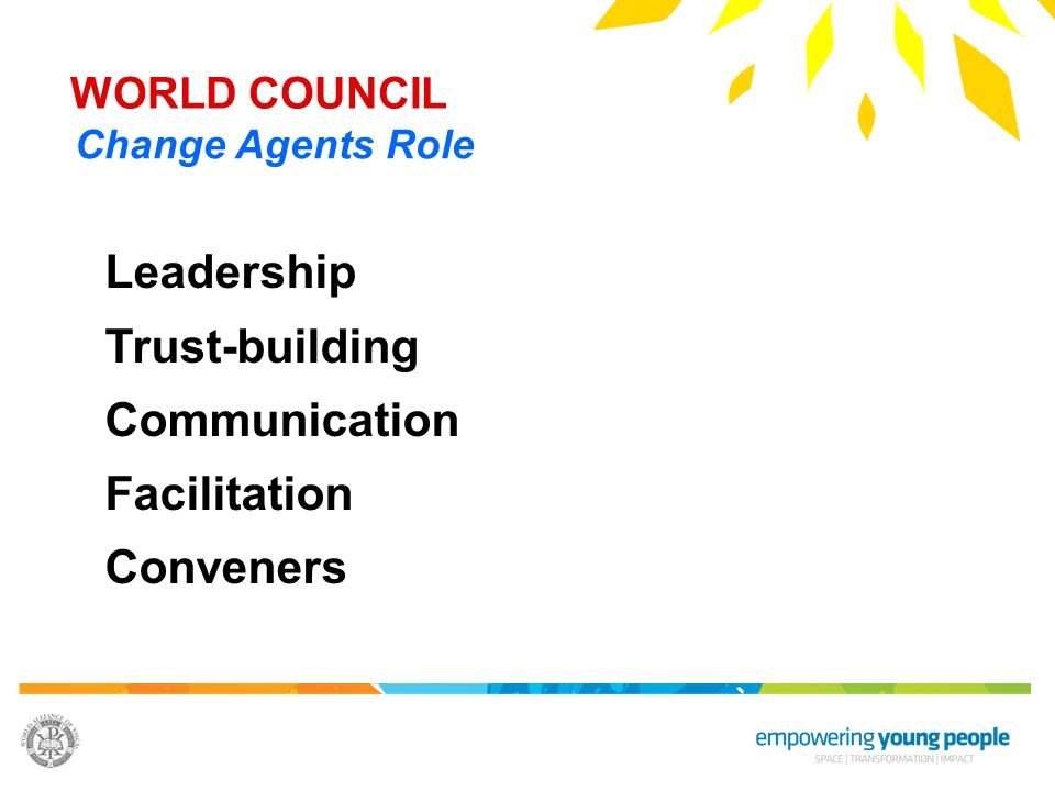 Leadership Trust-building Communication Facilitation Conveners
