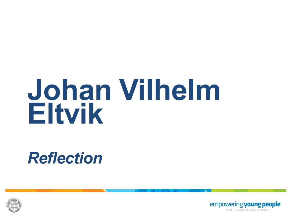 Johan Vilhelm Eltvik Reflection