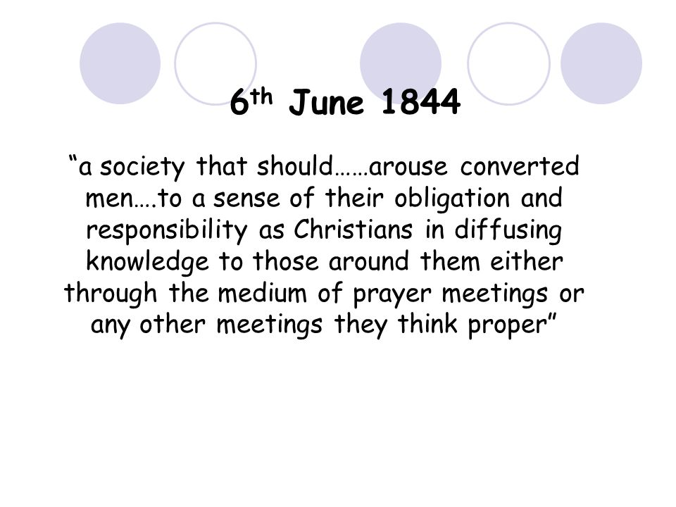 6th June 1844