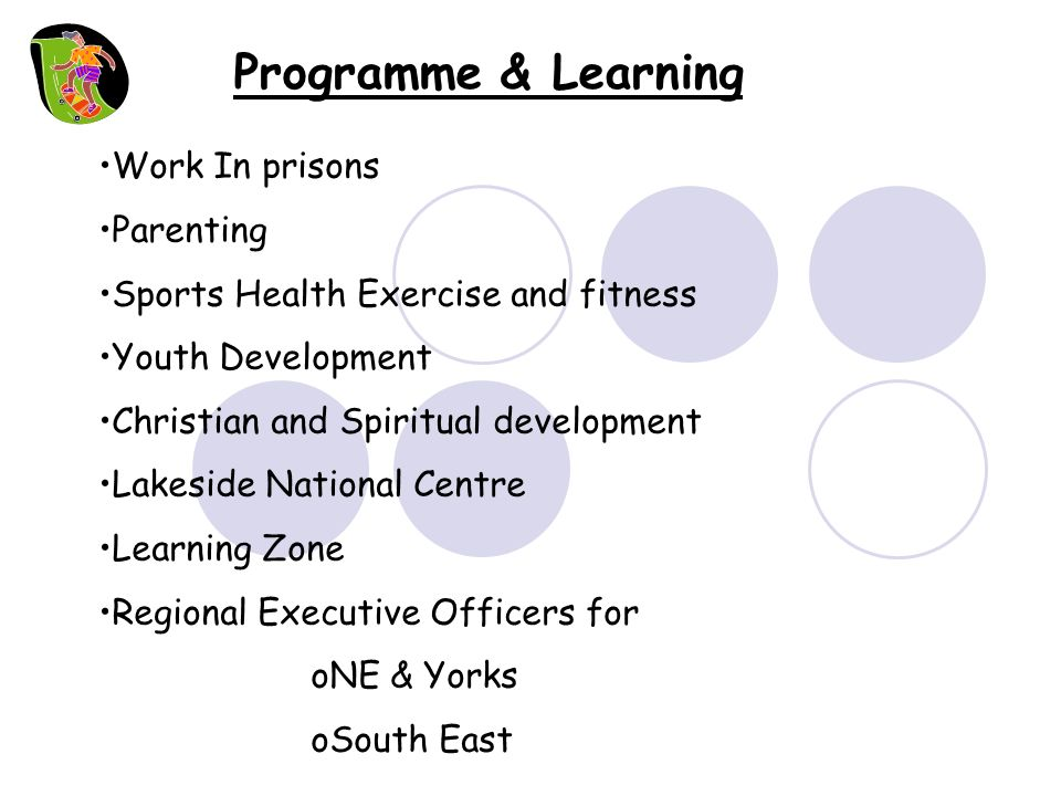 Programme & Learning Work In prisons Parenting