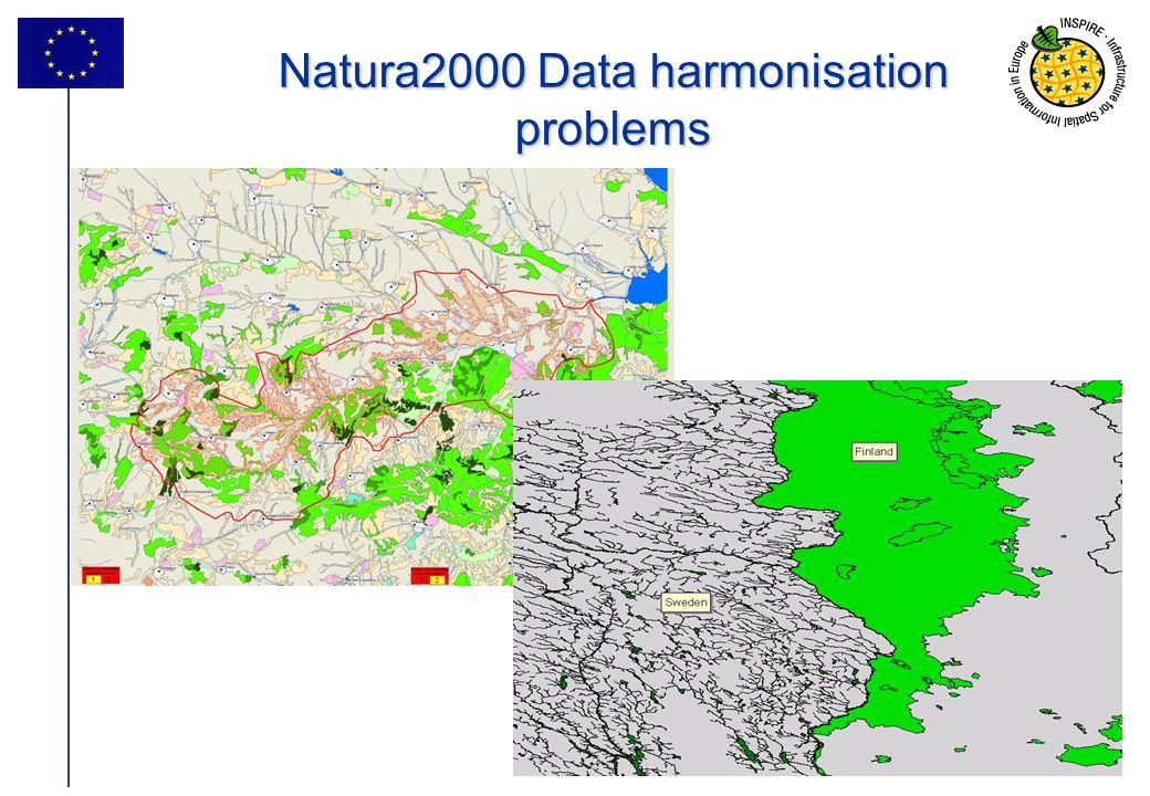 Natura2000 Data harmonisation problems