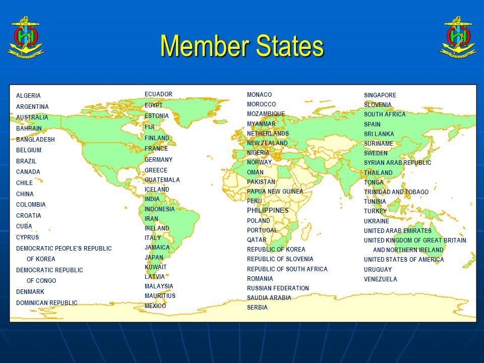 Member States ALGERIA ARGENTINA AUSTRALIA BAHRAIN BANGLADESH BELGIUM