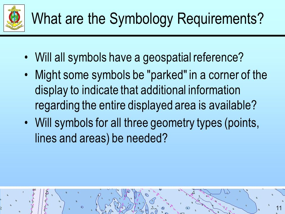 What are the Symbology Requirements