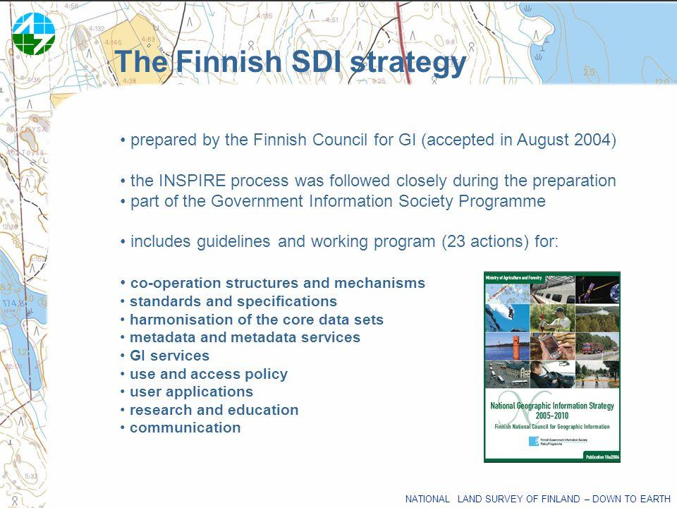 The Finnish SDI strategy