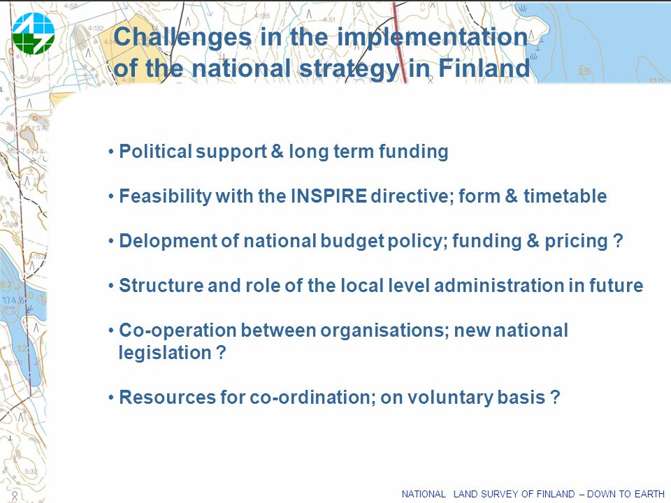 Challenges in the implementation of the national strategy in Finland