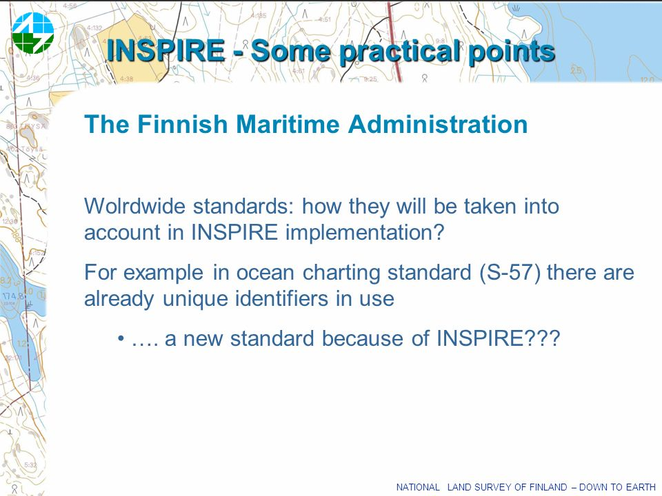 INSPIRE - Some practical points