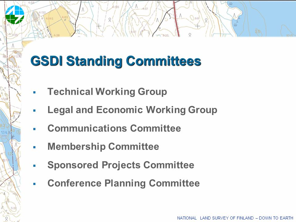 GSDI Standing Committees