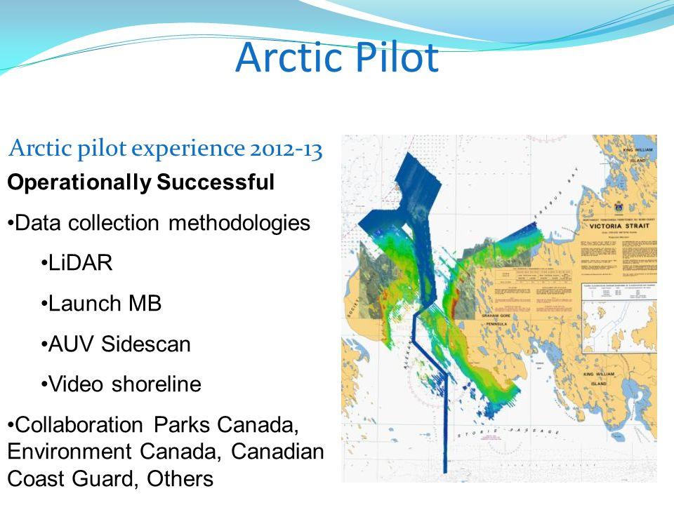 Arctic pilot experience 2012-13