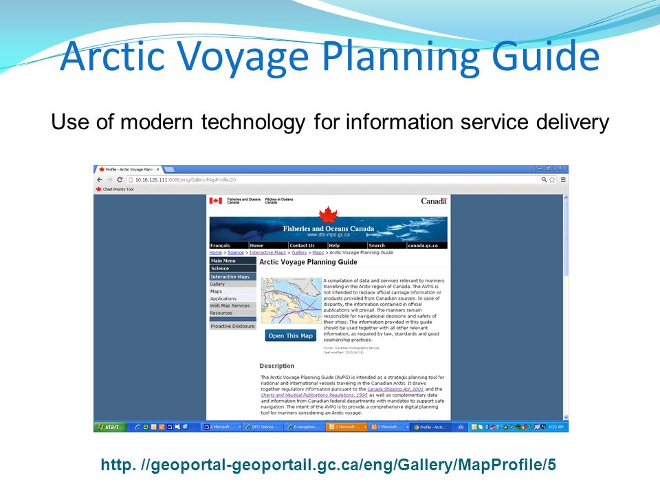 Arctic Voyage Planning Guide