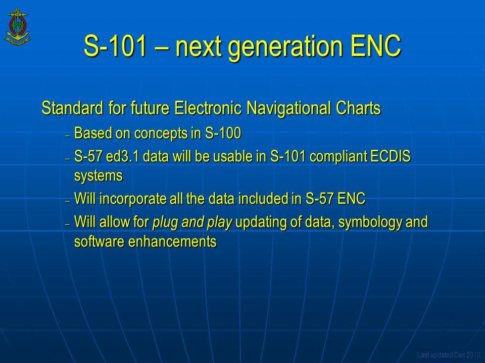 S-101 – next generation ENC