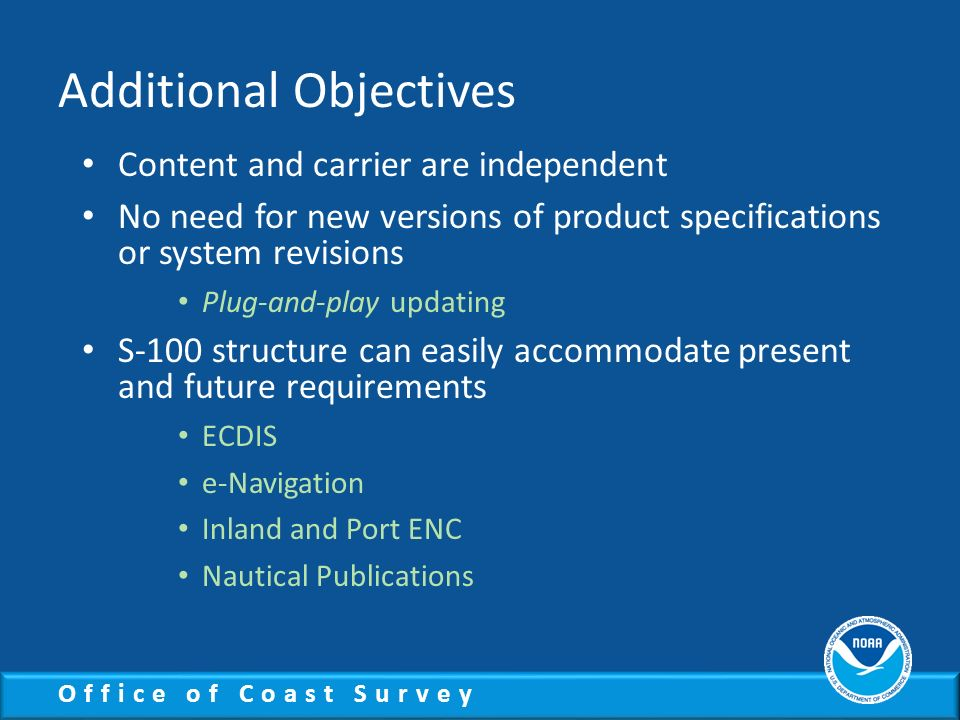 Additional Objectives