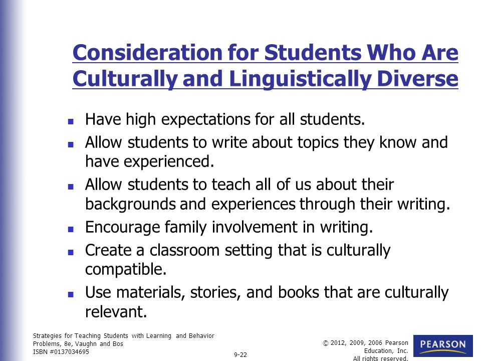 diversity considerations essay Welcome to the purdue owl purdue owl writing of sites owl english as a second language esl students audience considerations for esl writers skip navigation english as a second most of your writing assignments in college will consist of academic papers that you will.