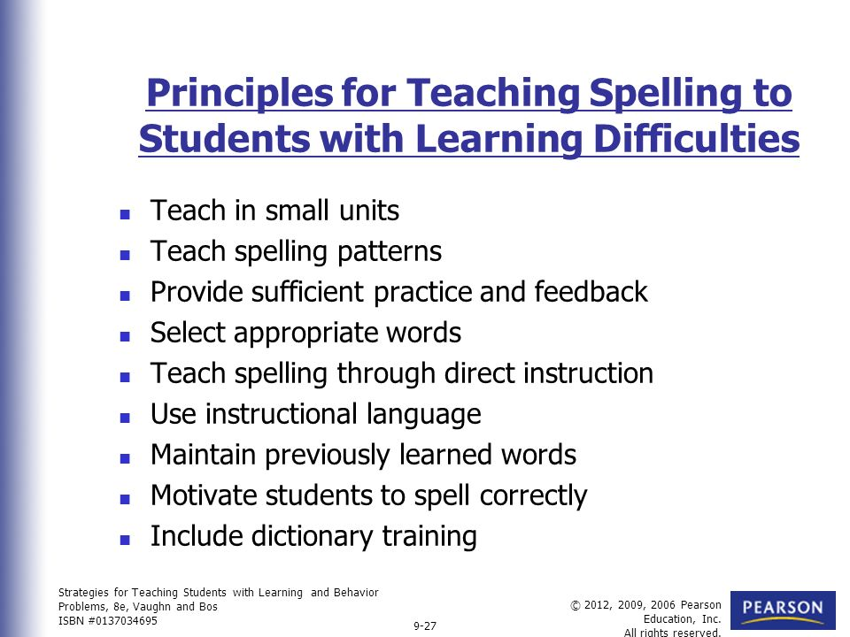 how to teach spelling patterns