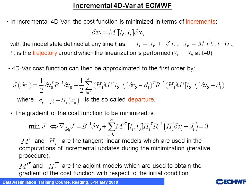 Incremental 4D-Var at ECMWF