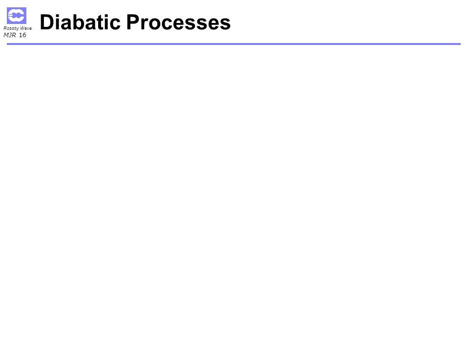Diabatic Processes