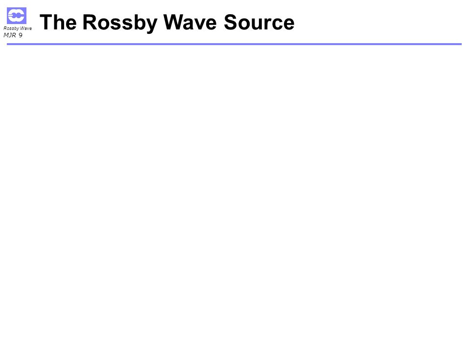 The Rossby Wave Source