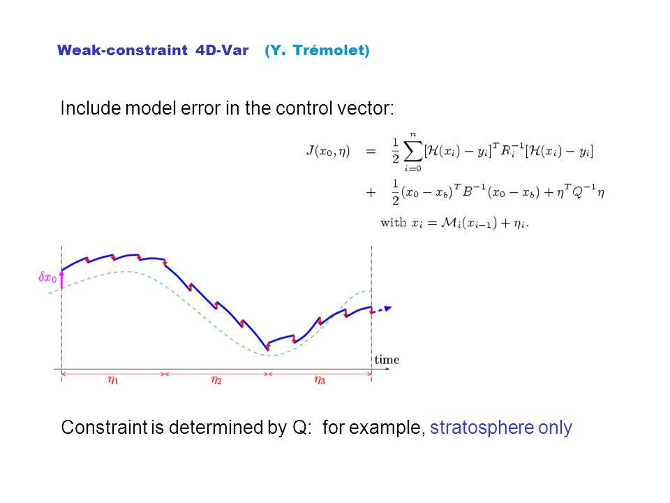 Weak-constraint 4D-Var (Y. Trémolet)
