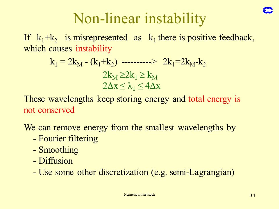 Non-linear instability